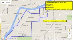 AJ Arnett Course Map
